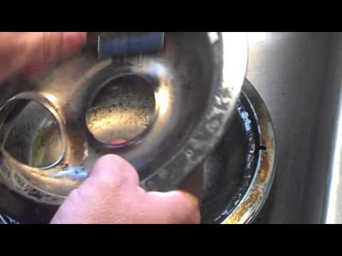 The Easy Way To Clean Stove Drip Pans Youtube