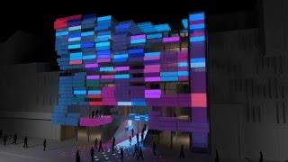 Архитектурный медиафасад. Фабрика Диодов(Мультимедийный фасад Klubhaus в Санкт-Паули, Гамбург создаст в развлекательном районе города незабываемое..., 2016-04-28T17:49:26.000Z)