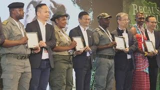 South Africa hosts the first annual African Ranger Awards