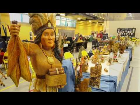 2017 Lancaster County Wood Carvers 44th Annual Woodcarving & Wildlife Art Festival In HD