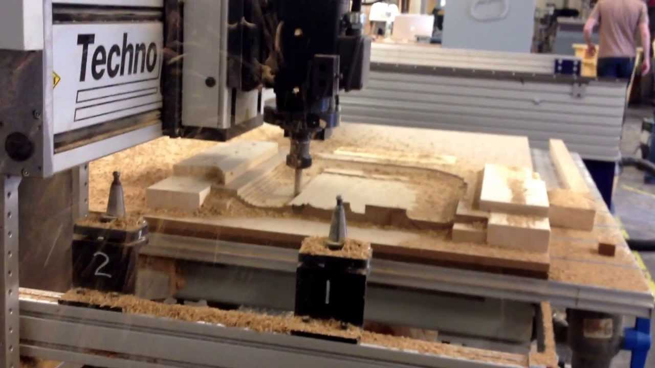 Furniture design cnc routered seat youtube for Made design
