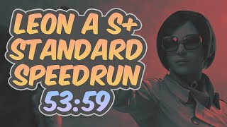 Resident Evil 2 Remake - Leon A Speedrun - 53:59 (World Record)