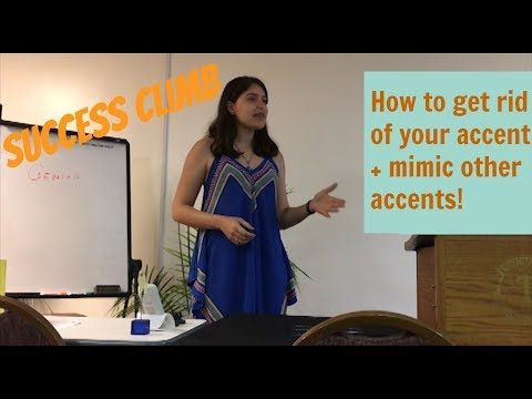 How to Say It (Speech)- How to reduce your accent or mimic an accent from another country!