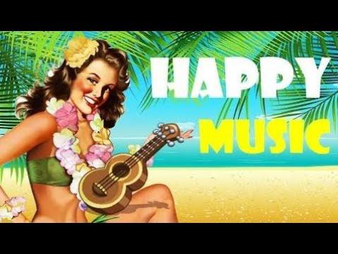 New HAPPY MUSIC - Hawaiian Music - UKULELE Background, Cheerful, Joyful and Upbeat #2