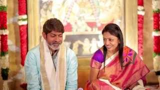 Jagapati Babu daughter's weddding highlights Meghna+Chad Bowen