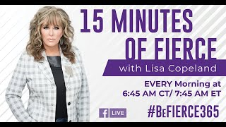 💋Good MORNING! IT'S WEDS. OCT 17TH ‼️Welcome to Episode#6 #BeFIERCE365 with Lisa Copeland.