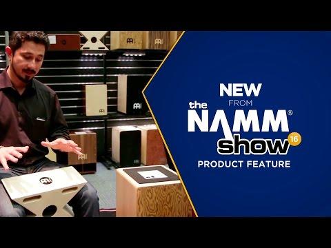 Live at NAMM 2016 - Meinl Cajons