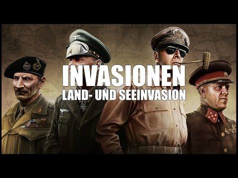 Anleitung Invasionen - Hearts of Iron 4 | [Anleitung] [Deutsch] [60fps]