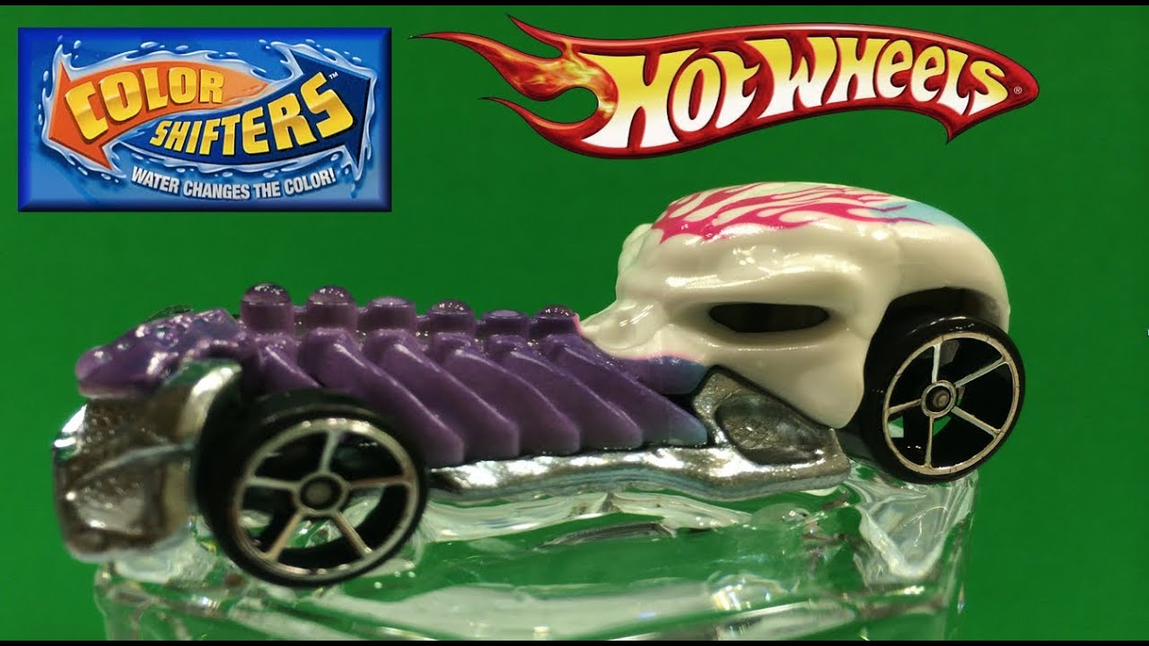 Hot Wheels Die Cast Color Shifter Changing Car Skull Crusher