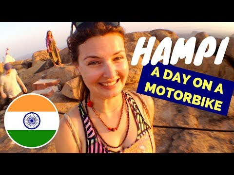 AWESOME day in HAMPI (INDIA)