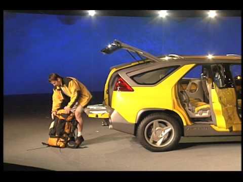 Pontiac aztek concept car