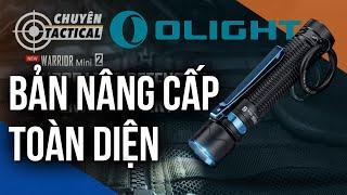 Phiên bản nâng cấp toàn diện-Đèn pin EDC tự vệ OLIGHT WARRIOR MINI 2-Chuyentactical.com