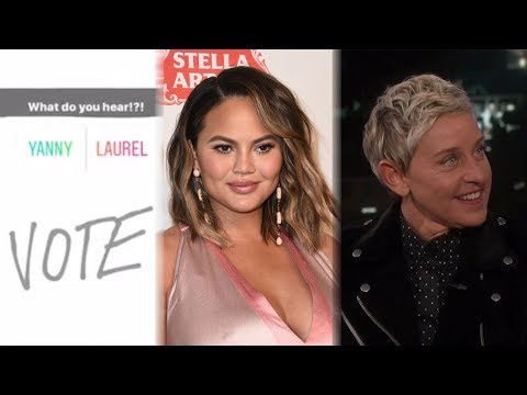 Yanny vs Laurel Debate - Celebs REACT!