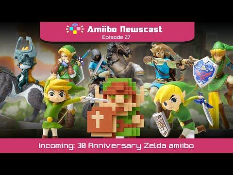 The amiibo newscast mini th anniversary zelda amiibo incoming