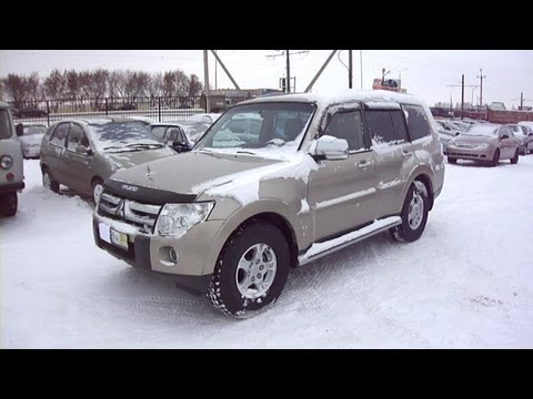 2007 Mitsubishi Pajero IV. Start Up, Engine, and In Depth Tour.