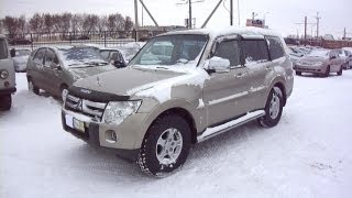 2007 Mitsubishi Pajero IV. Start Up, Engine, and In Depth Tour.