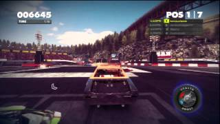 DiRT Showdown (PS3) - Multiplayer Gameplay