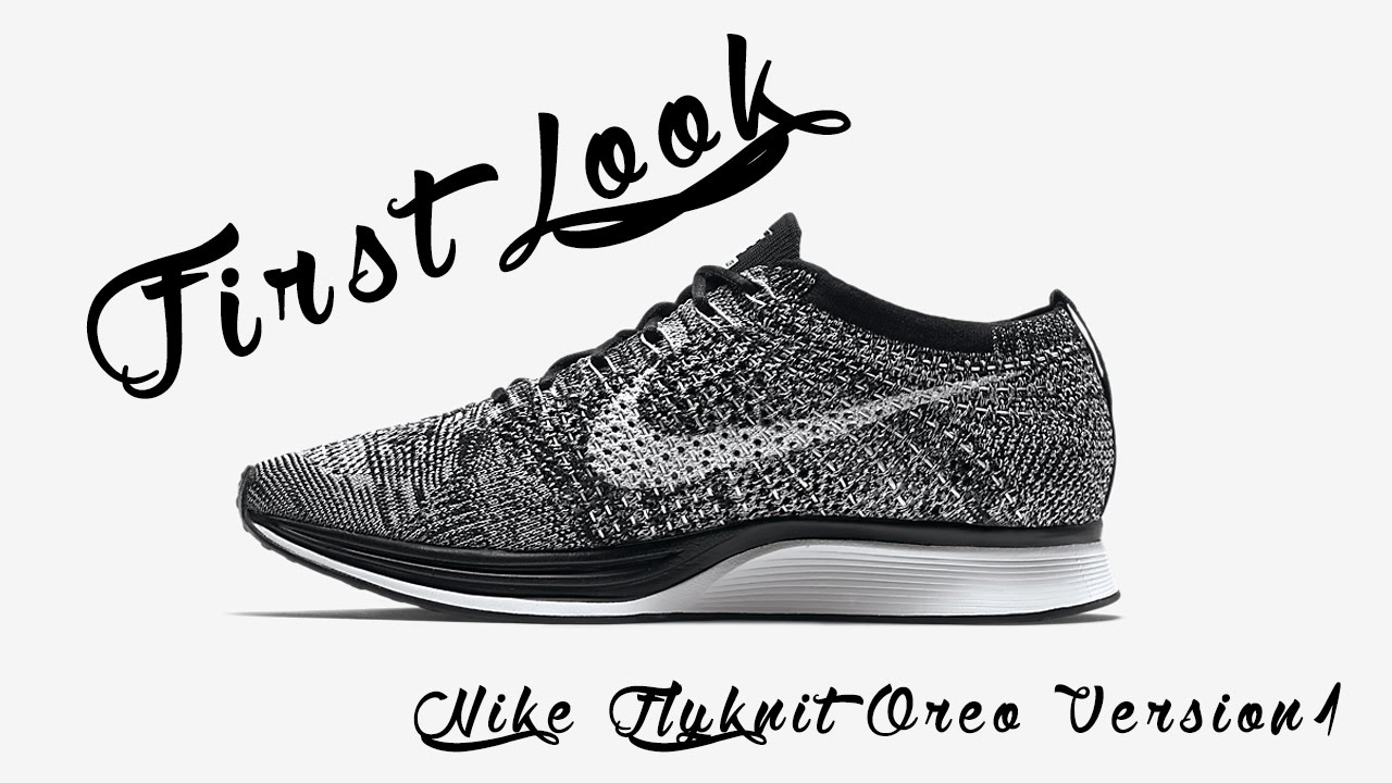 Nike Flyknit Oreo First Look and Quick Lookbook