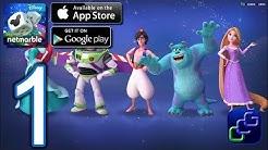 Disney Magical Dice: The Enchanted Board Game Walkthrough - Part 1 - Tier 1 Multiplayer 1v1