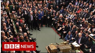 MPs back Johnson's Brexit bill - BBC News