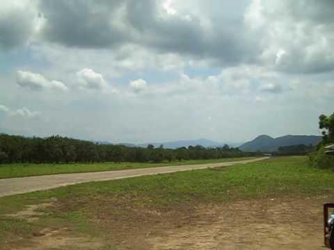Airport in Dangriga, Belize