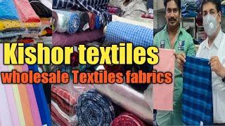 Hyderabad wholesale textiles market   wholesale market   Kishor textiles