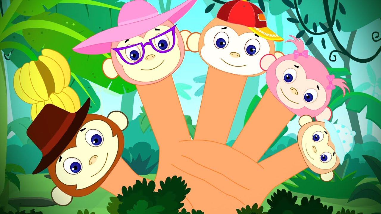 ครอบครัวนิ้วลิง | วิดีโอเคลื่อนไหว | เพลงสำหรับเด็ก | เกี่ยวกับการศึกษา | บทกวีในภาษาไทย