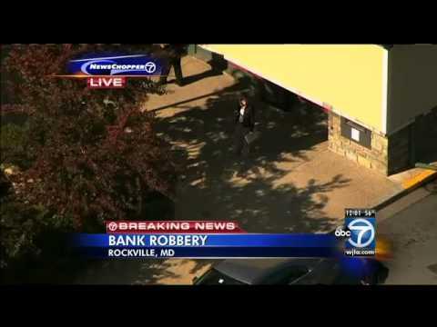 Rockville bank robbery