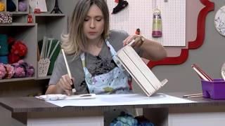 Como pintar maçãs com stencil – 2da parte