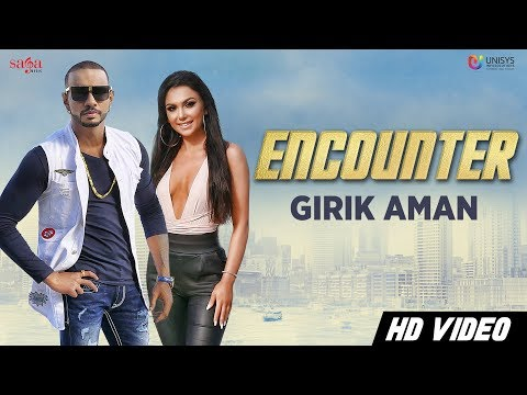 Girik Aman - Encounter (Official Video) | Aman Khanna | Latest Punjabi Song 2018 | Saga Music
