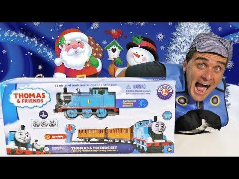Thomas & Friends Christmas Tree Train ! || Toy Review || Konas2002