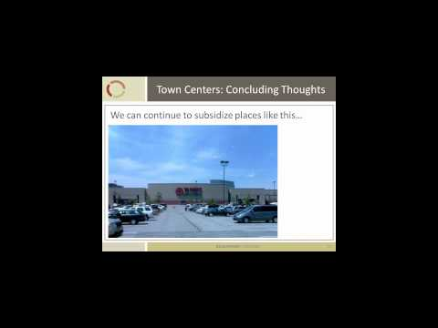 Town Centers their conditions to success and economic opportunity CM