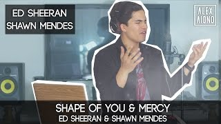 Shape of You by Ed Sheeran and Mercy by Shawn Mendes | Alex Aiono Cover Mp3