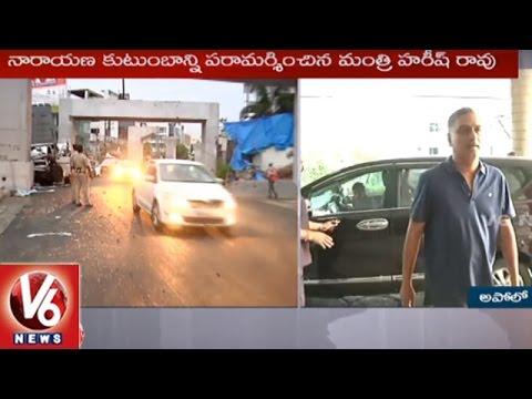 Narayana Son Accident Car
