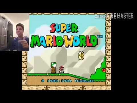 ZEREI SUPER MARIO WORLD EM UM ÚNICO VÍDEO!!!