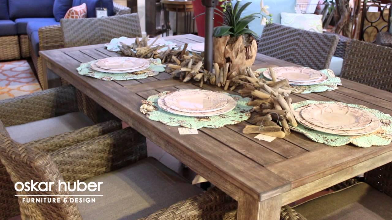 Outdoor Furniture At Oskar Huber Youtube