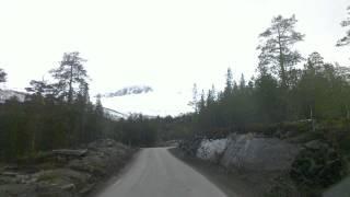 Scania V8 climbing Junkerdal Norway RV77