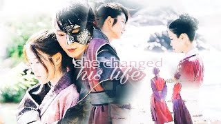 Wang So u0026 Hae Soo || She changed his life || Moon Lovers: Scarlet Heart Ryeo