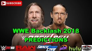 WWE Backlash 2018 Daniel Bryan vs  Big Cass Predictions WWE 2K18