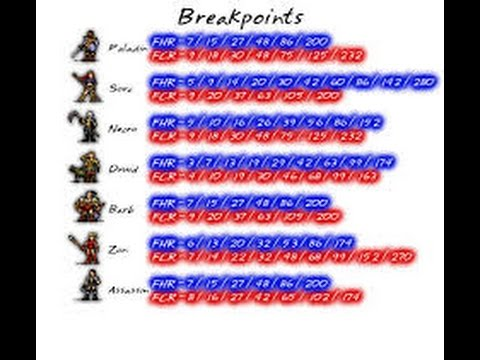 Diablo 2: All you need to know about breakpoints - YouTube