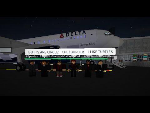 ROBLOX - Pro Delta Airlines Airbus A319 Flight