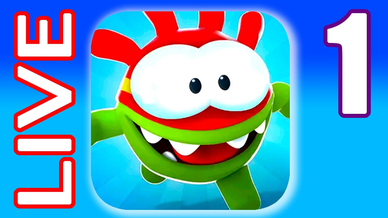 OM NOM RUN LIVE #1 Running Game Walkthrough (iOs, Android) | Power of Gameplay