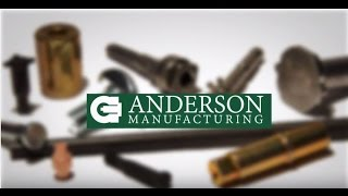 Anderson Manufacturing Case Study