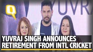 Yuvraj Singh Announces His Retirement From International Cricket