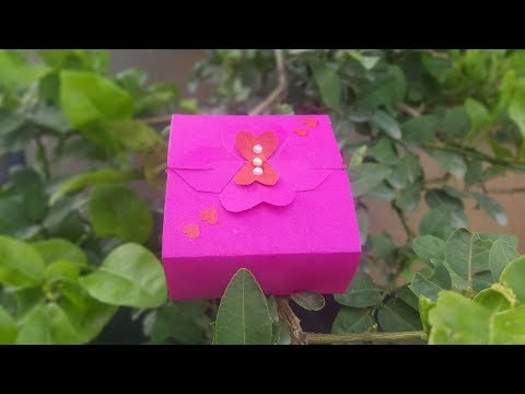 Origami Paper Box | How to make a Gift Box | DIY Paper Crafts