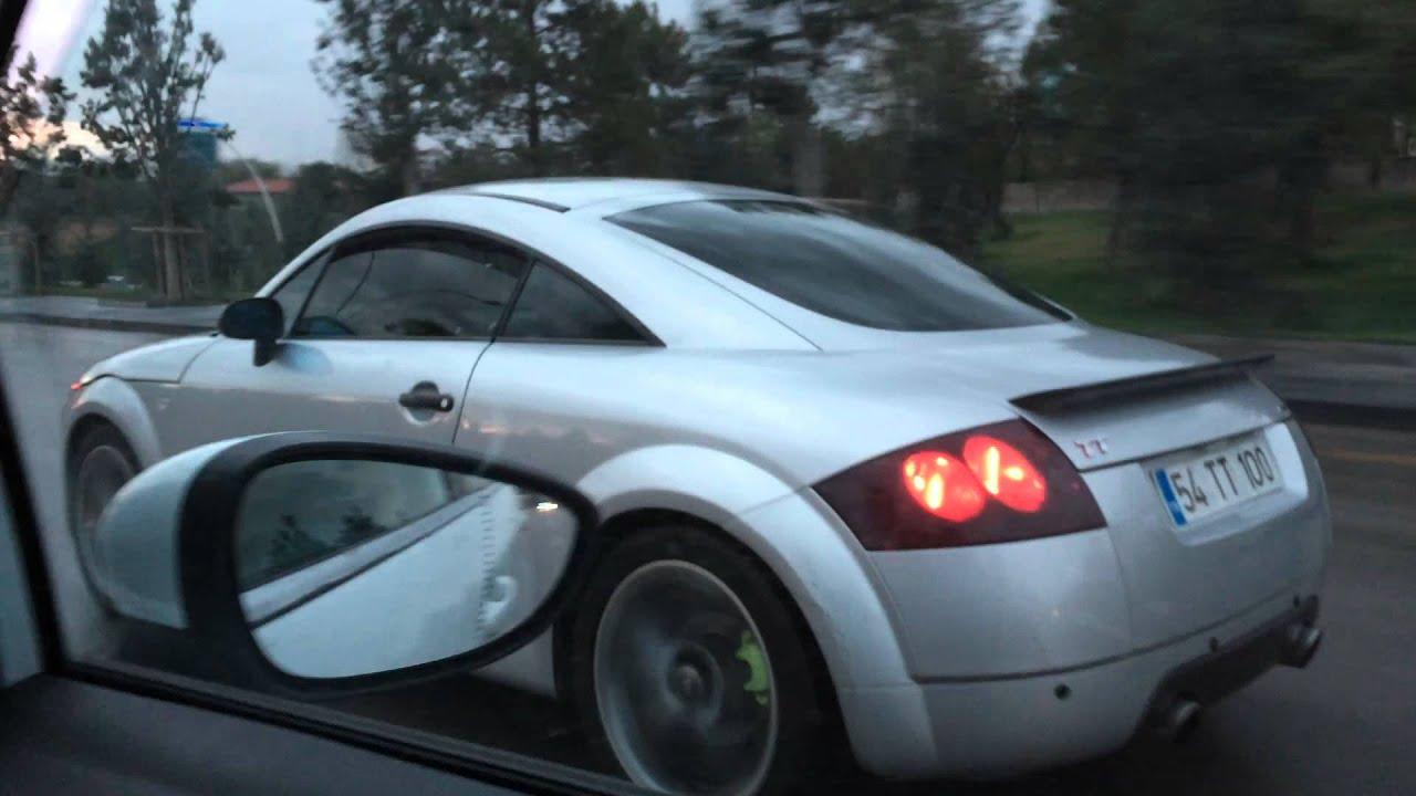 Audi TT custom exhaust - YouTube
