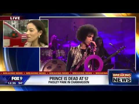 Prince dead at Paisley Park estate in Chanhassen, Minnesota