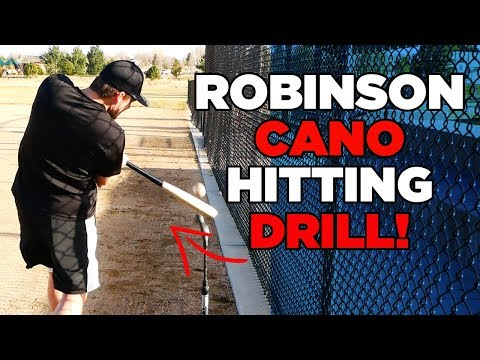 How To: Robinson Cano BEST Hitting Drill For Power!!