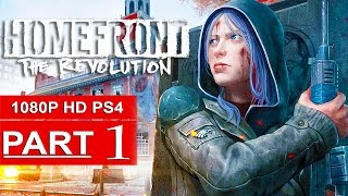 Homefront The Revolution Gameplay Walkthrough Part 1 [1080p HD PS4] - No Commentary