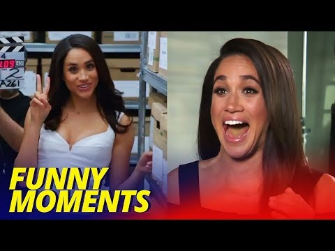 Meghan Markle Funny Moments (SUITS BLOOPERS)